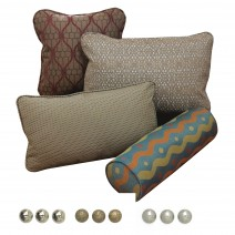 Nail Head, Throw pillow options