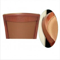 "Woodgrain ""Chair saver molding"""