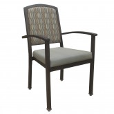 Woodgrain Aluminum Chairs