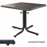 Adjustable Height/FLIP-TOP Table Base WITH TRANSPORT WHEEL