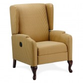 RECLINER - Queen Anne front Legs