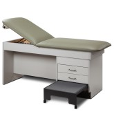 Treatment Table with Integral Step Stool